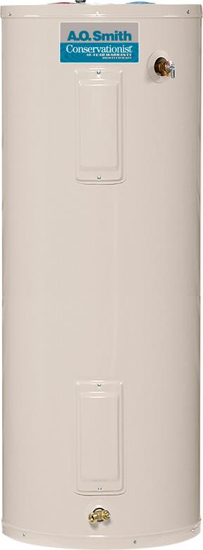 Conservationist  water heater, models PXHS-40- PXHT-80