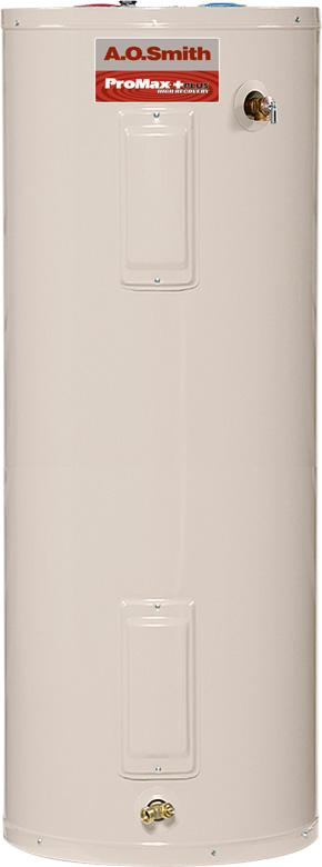 ProMax Plus water heater, models ECRT-40- ECRT-80